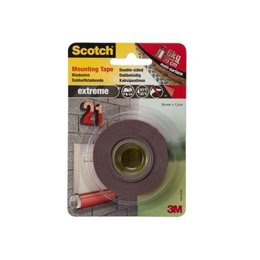 3M Scotch 4002 Extra Güçlü Montaj Bantı Renkli
